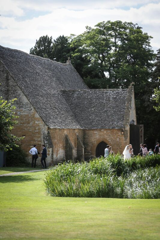 Wedding barn in the Cotswolds